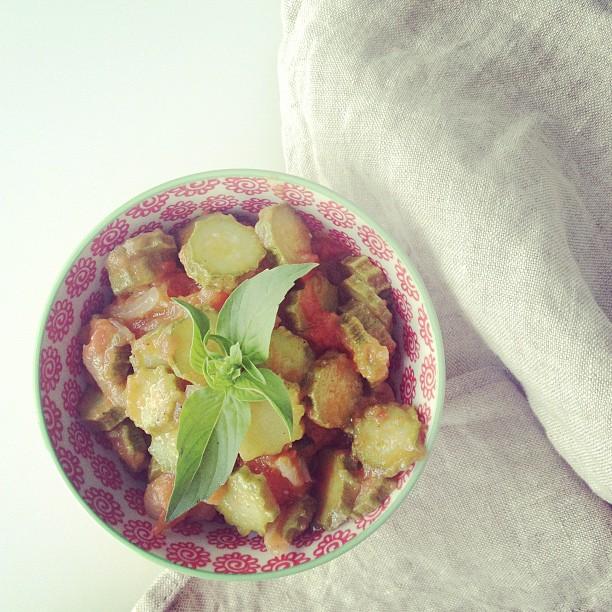 Zucchine a buglione (sottotitolo: evviva la cucina toscana)