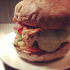 Staff food #burger