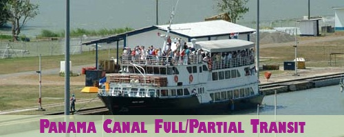 Panama Canal Full/Partial Transit