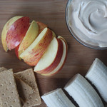 Healthy Snickerdoodle Greek Yogurt Dip
