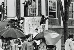 Occupying Administration Building at U of MD: May 1970