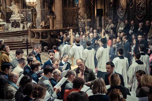 Messe à Notre-Dame de Paris