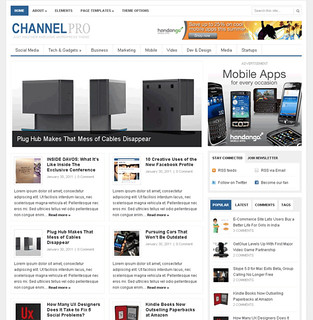 Channel-Pro-wordpress-theme