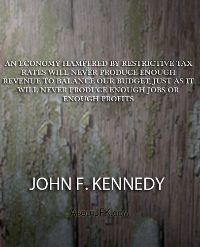 TAX RATE UNDER KENNEDY