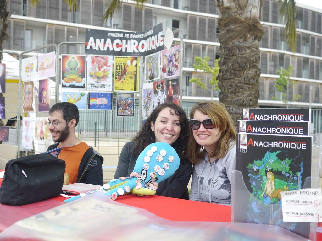 related image - Fanzine Anachronique - Bulles en Seyne 2013 - P1640722