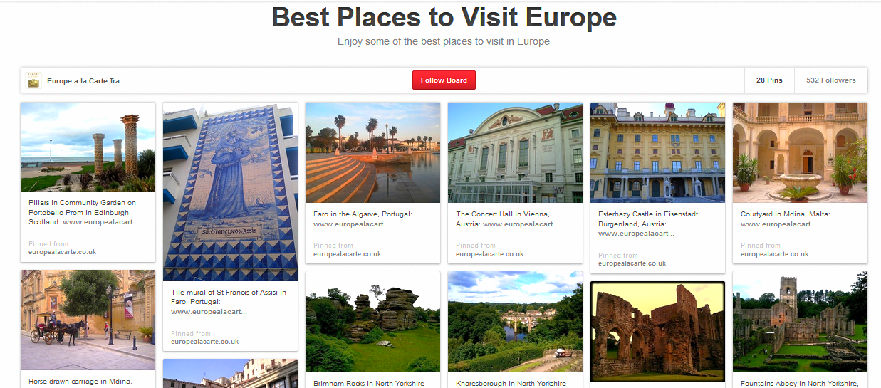places to check it out in europe