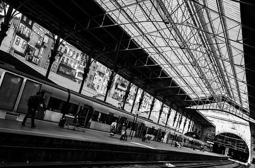Estação de S Bento, Porto, Portugal by @uroraboreal