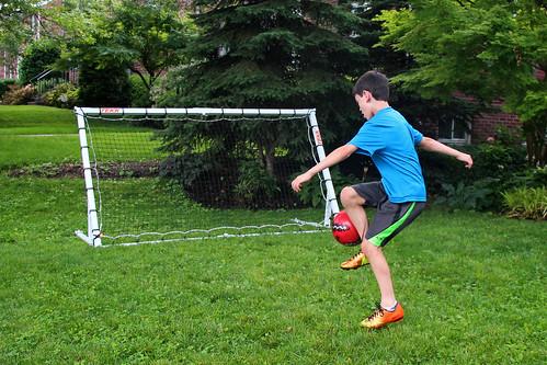 tekk soccer trainer rebounder trainer