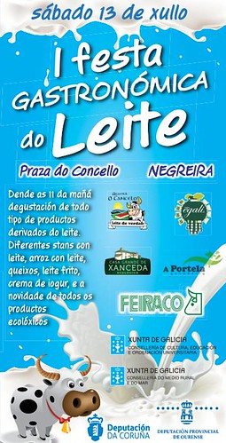 Negreira 2013 - Festa do Leite - cartel