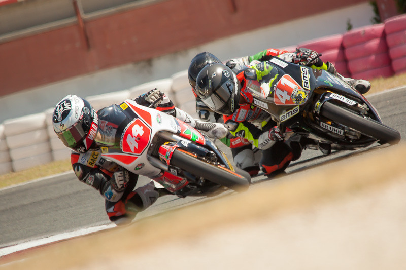 Aron Canet y  Marc Garcia