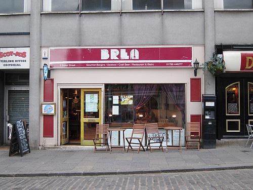 Brea (good burgers and beer)