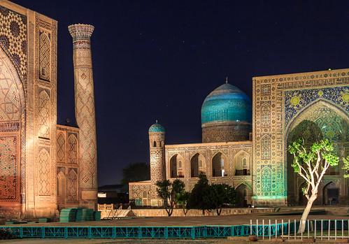 Night in Samarkand (Uzbekistan)