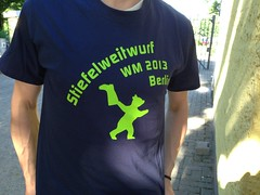 Steifelweitwurf T-Shirt