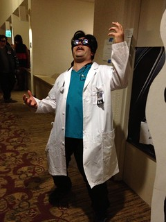 And here's @fesworks as Dr. Insano...