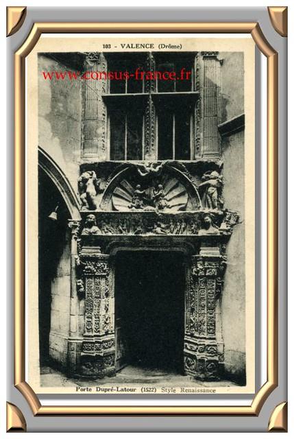 VALENCE Porte Dupré-Latour (Drôme) 103-70-150