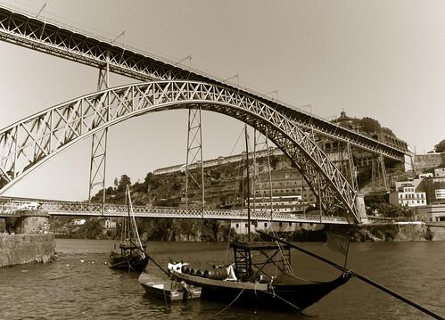 Ponte Luiz I by treboada