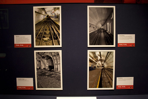 Post Office Railway - photo exhibition