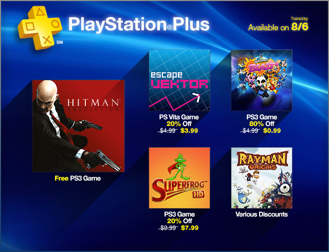 PlayStation Plus Update 8-6-2013