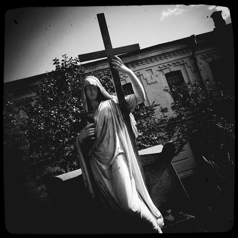 «Крест, Бокал и Печаль» (Cross, Glass and Grief) ver.1