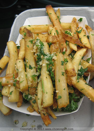 Garlic Fries at AT&T Park