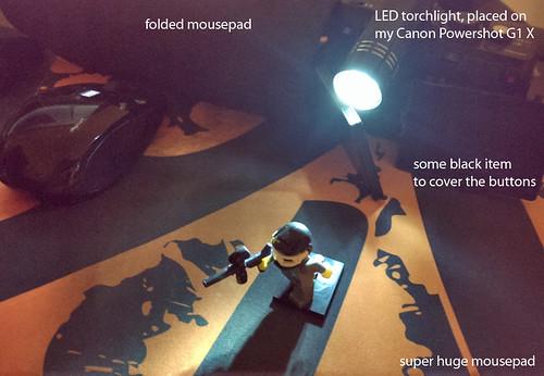 Lego Photoshoot Setup
