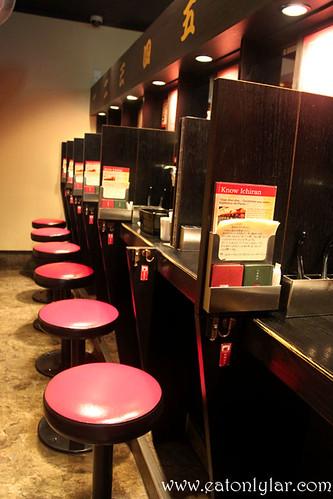 Restaurant Interior, Ichiran Ramen