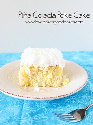 Pina Colada Poke Cake 2