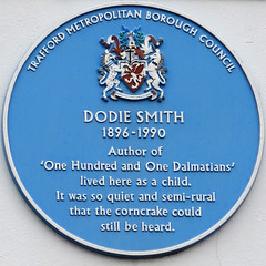 Photo of Dodie Smith blue plaque
