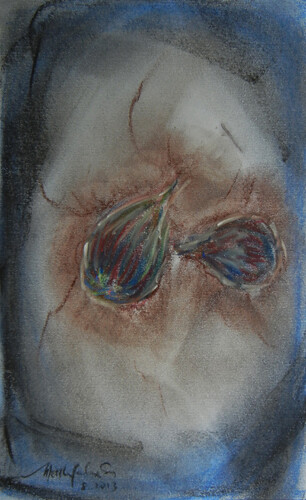 Pastel Drawing Figs 2
