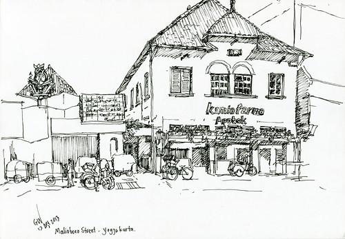Jogjakarta - Malioboro Street