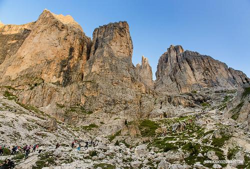 Dolomites - Val di Fassa - Vinicio Capossela at Vajolet 05