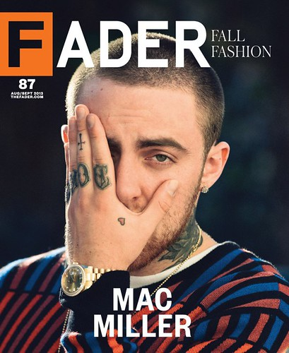 Mac Miller Fader Magazine Cover