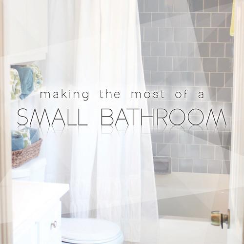 Making The Most Of A Small Bathroom Gloria Joy