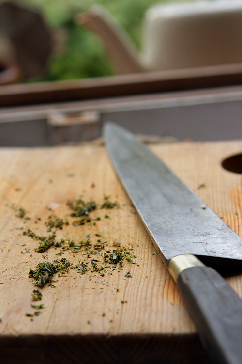 chopped savory