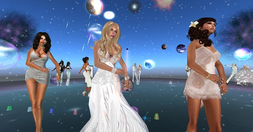 Lost in Space White Party by Kara 2