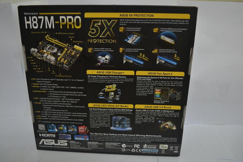Review]ASUS H87M-PRO LGA 1150