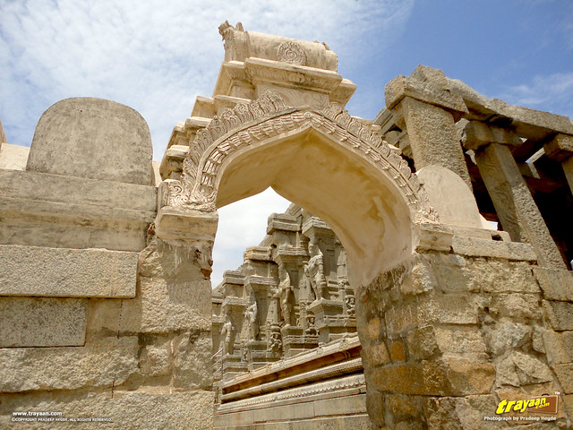 Veerabhadra Swamy Temple complex at Lepakshi, in Andhra Pradesh, India