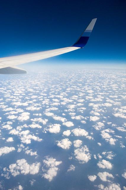 在飞机上曾拍到什么精采的