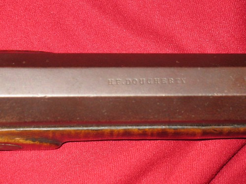 H. F. Dougherty Rifle - Made in Galesburg, Illinois