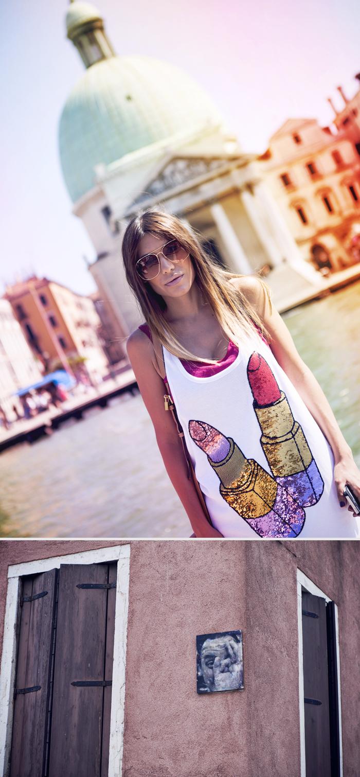 street style barbara crespo love venice streets italy outfit