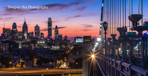 longexposure sunset usa philadelphia skyline skyscraper canon river downtown dusk pennsylvania slowshutter philly bluehour benfranklinbridge eastcoast schuylkillriver philadelphiaskyline 60d leefilters swapanjha cswapanjha