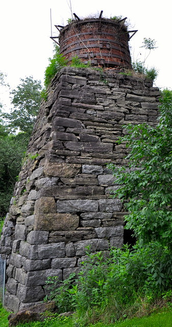 Furnace at Foster Falls today