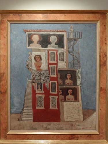 The Belvedere, by Massimo Campigli. (1930).