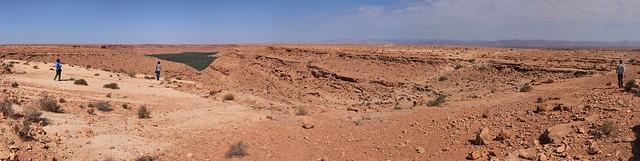 沙漠的地景~