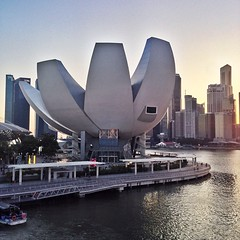 The Art Science Museum by Moshe Safdie #architecture #singapore #archdaily #instagood #waf2013 #iphonesia #architexture