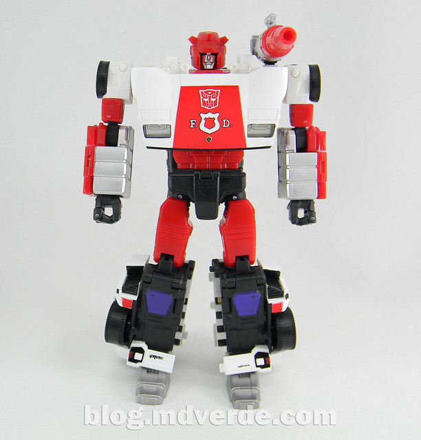 Transformers Red Alert - Masterpiece - modo robot
