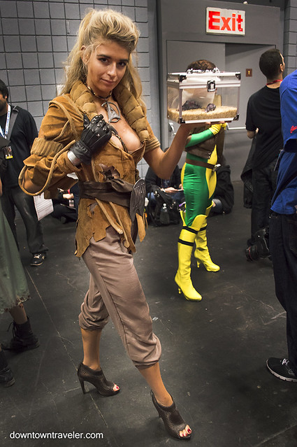 NY Comic Con Womens Costume Wrath of Khan