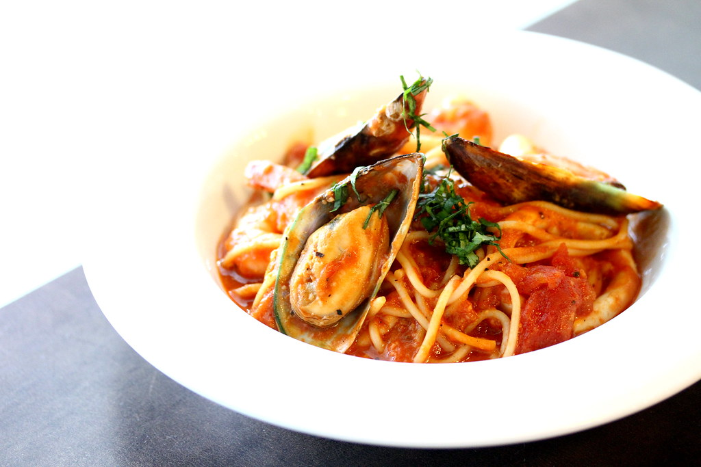 Backstage Cafe's Seafood Marinara