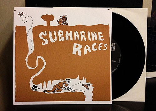 "Submarine Races - Talking Loud 7"" by Tim PopKid"