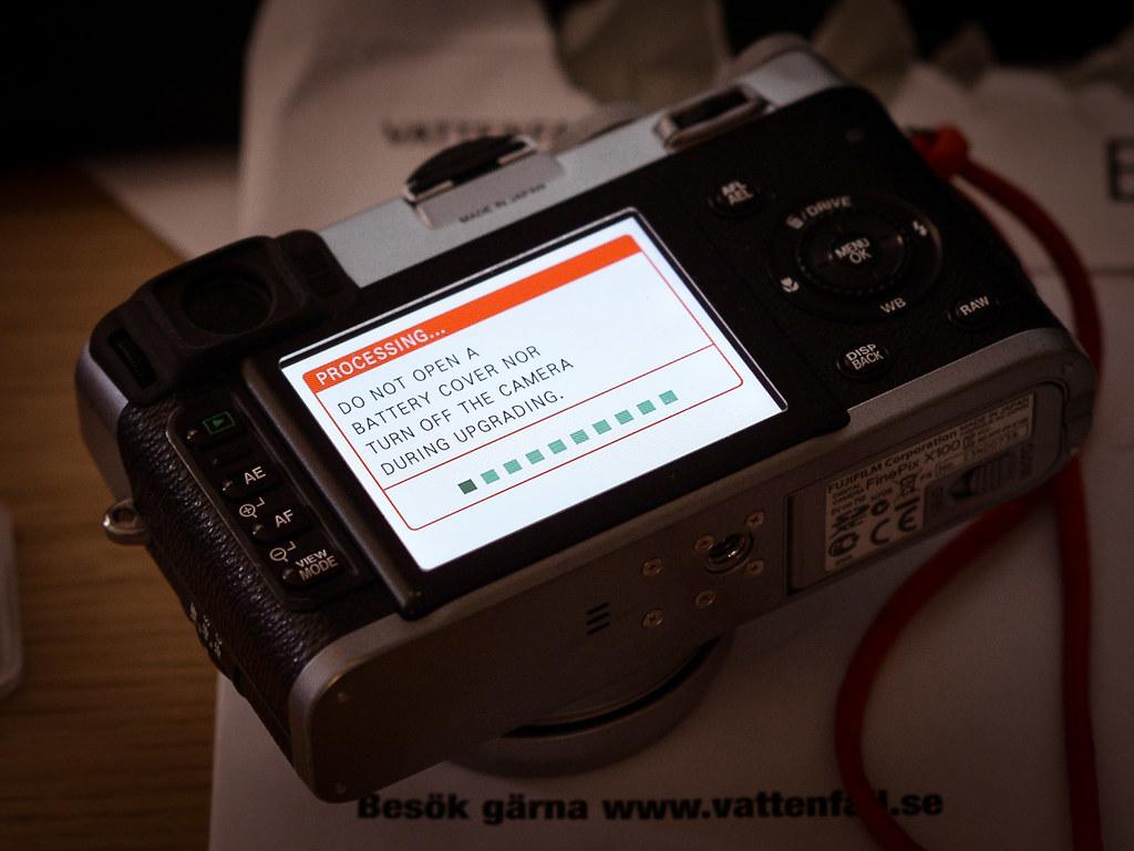 Fuji X100 firmware 2.00